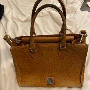 Dooney & Bourke ostrich handbag